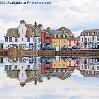 Buy canvas prints of Millport Town by Valerie Paterson