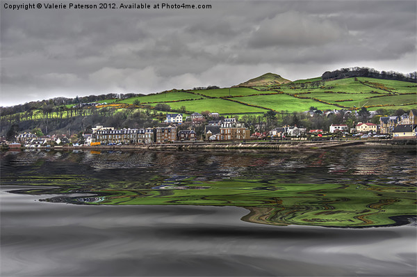 Largs Seafront Canvas print by Valerie Paterson