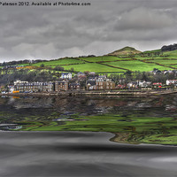 Buy canvas prints of Largs Seafront by Valerie Paterson