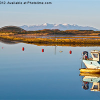Buy canvas prints of Irvine To Arran by Valerie Paterson