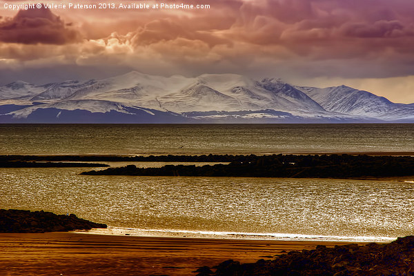 Isle Of Arran Canvas print by Valerie Paterson