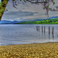 Buy canvas prints of Loch Lomond View by Valerie Paterson