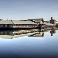 Buy canvas prints of City Quay Dundee by Valerie Paterson