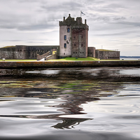 Buy canvas prints of Broughty Castle  by Valerie Paterson