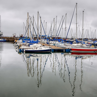 Buy canvas prints of Tayport Harbour  by Valerie Paterson