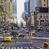 Buy canvas prints of New York City Street by Valerie Paterson