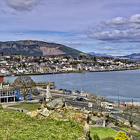 Buy canvas prints of Dunoon by Valerie Paterson
