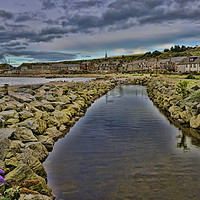 Buy canvas prints of Stonehaven by Valerie Paterson