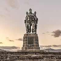 Buy canvas prints of Commando Memorial by Valerie Paterson