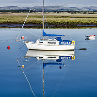 Buy canvas prints of Irvine Harbour by