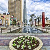 Buy canvas prints of Dubai by Valerie Paterson