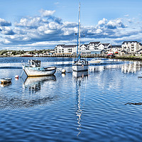 Buy canvas prints of Irvine Harbour by Valerie Paterson