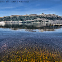 Buy canvas prints of Crystal Loch Lomond  by Valerie Paterson