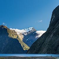 Buy canvas prints of Mt Pembroke glacier by Gary Eason