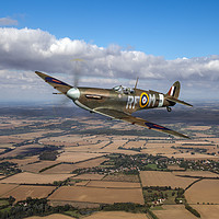 Buy canvas prints of Laguna's Spitfire 303 Squadron by Gary Eason