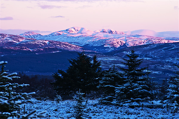 Ben Ledi, Stirlingshire Canvas print by Derek Whitton Landscape Photography