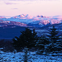 Buy canvas prints of Ben Ledi, Stirlingshire by Derek Whitton Landscape Photography
