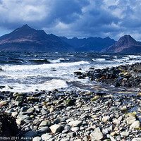 Buy canvas prints of Cuillins from Elgol by Derek Whitton Landscape Photography