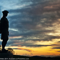 Buy canvas prints of Black Watch Memorial, Dundee by Derek Whitton Landscape Photography