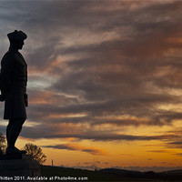 Buy canvas prints of The Black Watch Memorial Dundee by Derek Whitton Landscape Photography