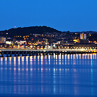 Buy canvas prints of Dundee Illuminated by Derek Whitton