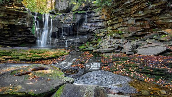 Blackwater Falls State Park, West Virginia, USA. Canvas print by Nataliya Dubrovskaya
