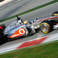 Buy canvas prints of Lewis Hamilton McLaren F1 by SEAN RAMSELL