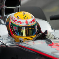 Buy canvas prints of Lewis Hamilton by SEAN RAMSELL