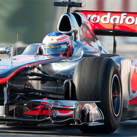 Buy canvas prints of Jenson Button 2011 - Catalunya by SEAN RAMSELL