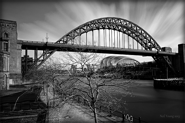 Tyne Bridge Canvas Print by Neil Young