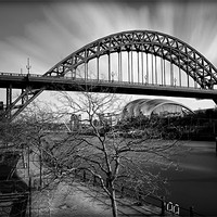 Buy canvas prints of Tyne Bridge by Neil Young