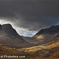 Buy canvas prints of Three Sisters Glencoe by Creative Photography Wales