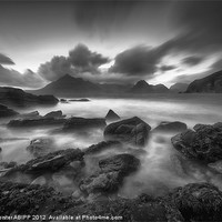 Buy canvas prints of The Black Cuillins by Creative Photography Wales