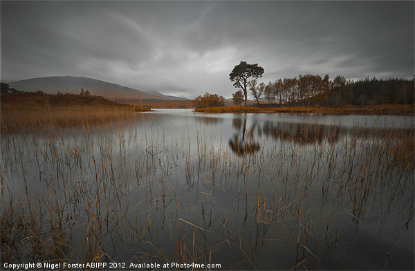 Loch Ba reflection Canvas print by Creative Photography Wales