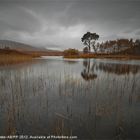 Buy canvas prints of Loch Ba reflection by Creative Photography Wales