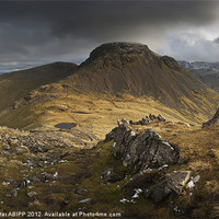 Buy canvas prints of Great Gable by Creative Photography Wales