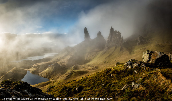 The Old Man of Storr, Isle of Skye Canvas print by Creative Photography Wales