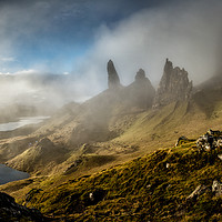 Buy canvas prints of The Old Man of Storr, Isle of Skye by Creative Photography Wales