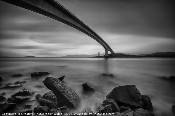 The Skye Bridge, Isle of Skye Canvas print by Creative Photography Wales