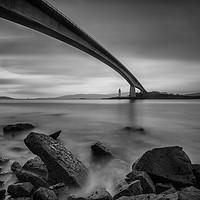 Buy canvas prints of The Skye Bridge, Isle of Skye by Creative Photography Wales