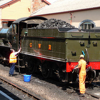 Buy canvas prints of West Somerset Railway by Raymond Partlett