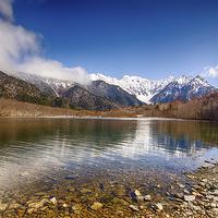 Buy canvas prints of Japanese Alps by Banjiwayume Photography