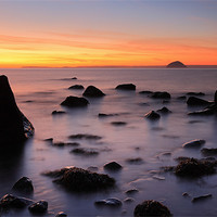 Buy canvas prints of West coast Sunset by Scottish Landscape and Wildlife Canvas Print
