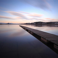 Buy canvas prints of The Cruin Jetty by Scottish Landscape and Wildlife Canvas Print