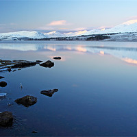 Buy canvas prints of Loch Tulla Sunrise by Scottish Landscape and Wildlife Canvas Print