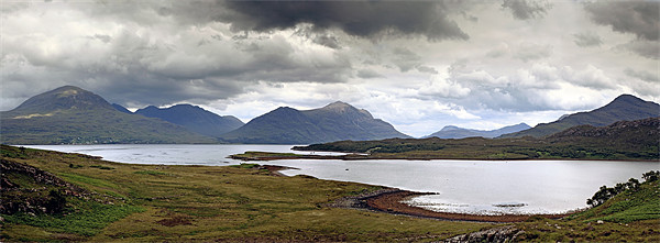 Torridon Canvas print by Scottish Landscape and Wildlife Canvas Print