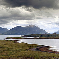 Buy canvas prints of Torridon by Scottish Landscape and Wildlife Canvas Print