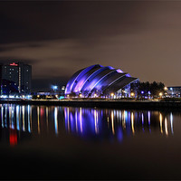 Buy canvas prints of Glasgow Armadillo by Scottish Landscape and Wildlife Canvas Print