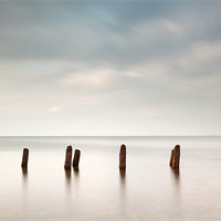 Buy canvas prints of Groyne Seascape by Scottish Landscape and Wildlife Canvas Print