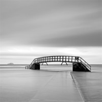 Buy canvas prints of Bridge and Bass rock by Scottish Landscape and Wildlife Canvas Print